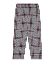 Calvin Klein Little Girls Natural Check Pants