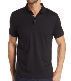 Calvin Klein Black Liquid Touch Polo