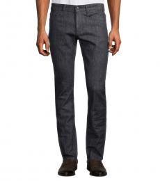 Hugo Boss Navy Blue Delaware Slim-Fit Jeans