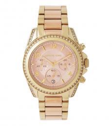 Michael Kors Golden  Blair Chronograph Watch