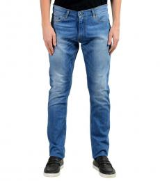 Roberto Cavalli Blue Stretch Slim Jeans