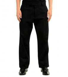 Black Stretch Casual Pants