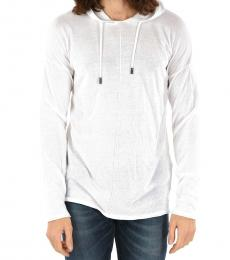 White Gold Hooded Kohoddy Pullover