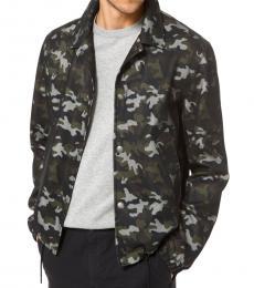 Olive Camouflage Jacket