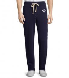 True Religion True Navy Drawstring Jogger Pants