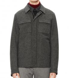 Calvin Klein Grey Classic Textured Jacket