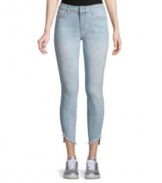 7 For All Mankind Light Blue Gwenevere Skinny Jeans
