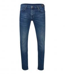 Versace Jeans Blue Slim Fit Jeans