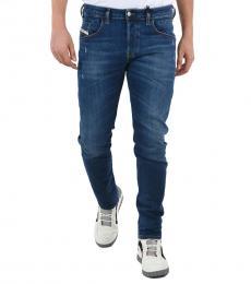 Blue Slim Fit D-Bazer Jeans