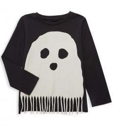 Stella McCartney Little Girls Grey Multi Bella Ghost T-Shirt