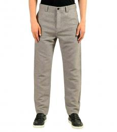 Hugo Boss Light Grey Stretch Casual Pants