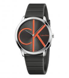 Grey Minimal Modish Watch