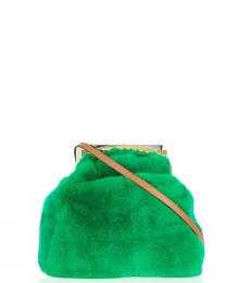 Marni Green Glitch Large Crossbody