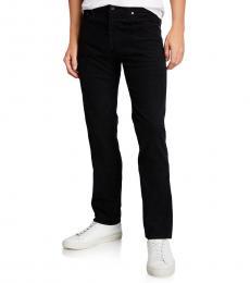 AG Adriano Goldschmied Black Matchbox Slim Straight Jeans