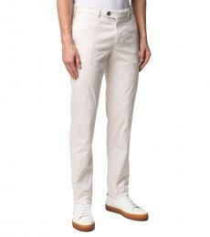 Off White Slim-Fit Chino Trousers