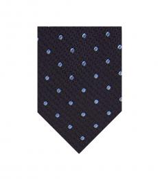 Ted Baker Black Textured Dot Tie