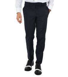 Neil Barrett Blue Slim Fit Pants