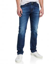 AG Adriano Goldschmied Medium Blue Matchbox Slim-Fit Jeans