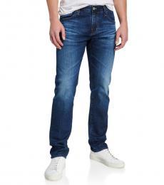 AG Adriano Goldschmied Medium Blue Matchbox Slim-Fit Jeans