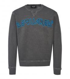 Dsquared2 Dark Grey Logo Sweatshirt