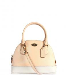 Coach Apricot Cora Domed Small Satchel