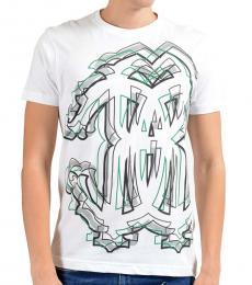 White Graphic Crewneck T-Shirt