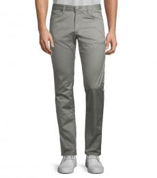 Hugo Boss Grey Regular-Fit Jeans