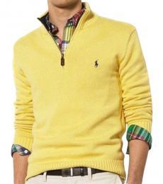 Yellow Half-Zip Sweater