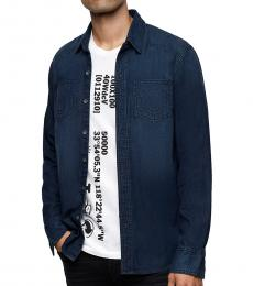 True Religion Greatest Blue Denim Shirt
