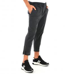 Dark Grey Capri Short Pants
