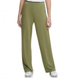 Cargo Green Luxe Wide-Leg Pants