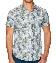 AG Adriano Goldschmied Plaited Palms Nash Short Sleeve Shirt