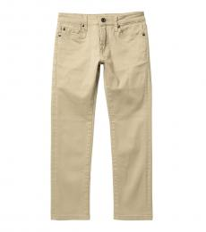 7 For All Mankind Boys Stone Twill Pants
