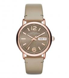 Marc Jacobs Beige Modish Watch