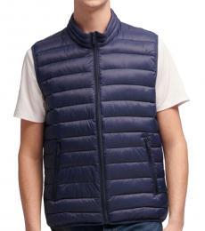 DKNY Navy Puffer Vest