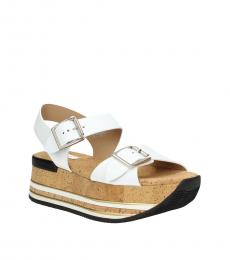 White Open Toe Sandals