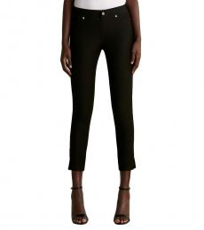 Michael Kors Black Trouser Leggings