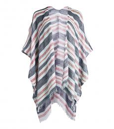Multi color Nautical Stripe Coverup