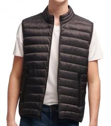 DKNY Black Puffer Vest