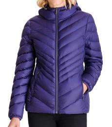 Michael Kors Iris Hooded Packabl Puffer Jacket