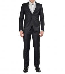Versace Jeans Black Two Button Suit