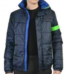 Roberto Cavalli Navy Full Zip Jacket