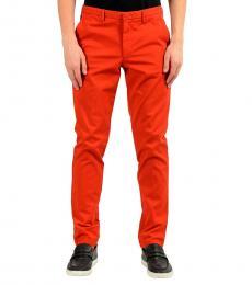 Hugo Boss Orange Stretch Slim Casual Pants