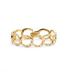 Kate Spade Gold Horseshoe Link Bracelet