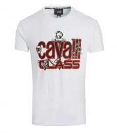 White Stretch Callisto T-Shirt