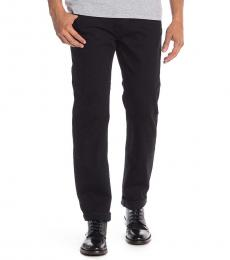 True Religion Black Flap Pocket Skinny Jeans