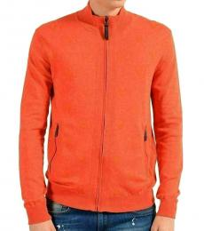 Orange Full Zip Jacket