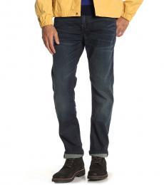 True Religion Dark Blue Rocco Super T Skinny Jeans