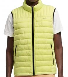 DKNY Yellow Stone Packable Quilted Vest