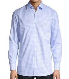 Light Blue Mabel Checkered Shirt
